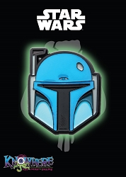 Star Wars Mandalorian Exclusive Pin - Animated Boba Fett Glow-in-the-Dark (Celebration 2019)